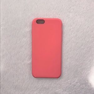 Accessories - ✨iPhone 6s Silicone Coral Case! ✨
